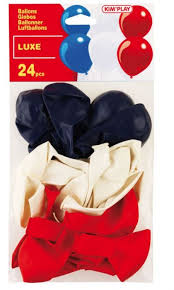 French themed ballons 24 pack