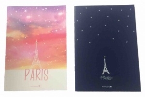 Paris notebook pack of 2