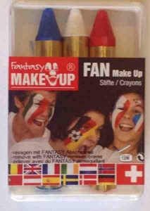 Face paint French colours