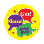 German Speech Bubble Stickers