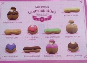 Poster Mes petites gourmandises (Pink)