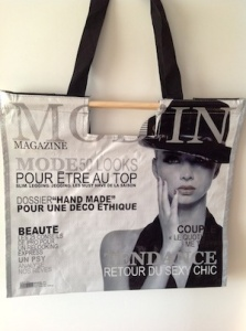 Cover magazine bag