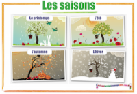 French Seasons Les saisons