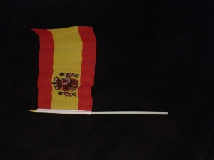 Medium Spanish flag (material)